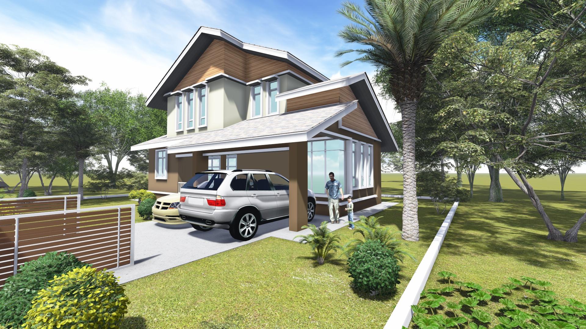 3 Unit Rumah Banglo 1 1/2 Tingkat Taman Cahaya Binaraya