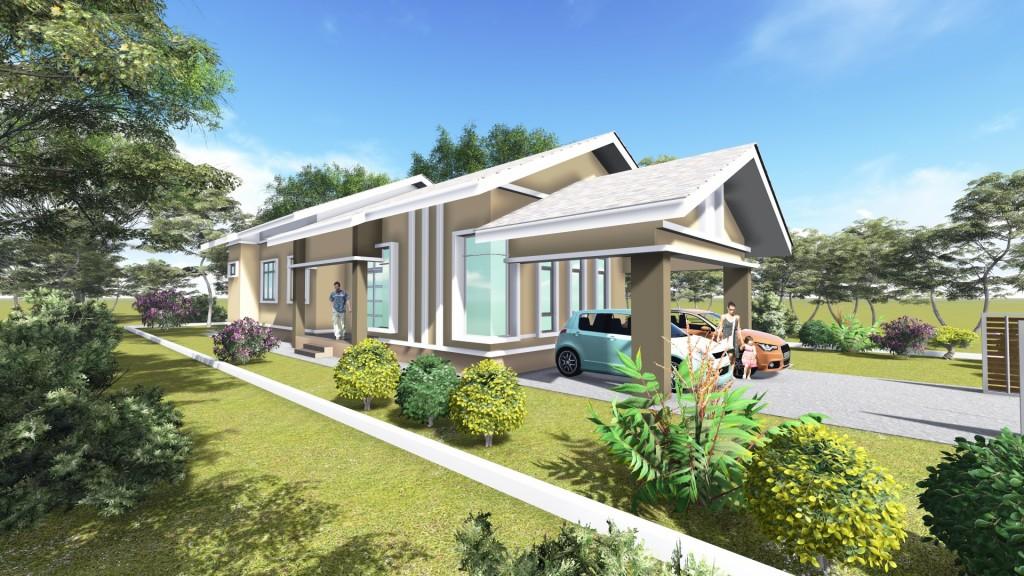 6 Unit Rumah Banglo 1 Tingkat Taman Cahaya Binaraya